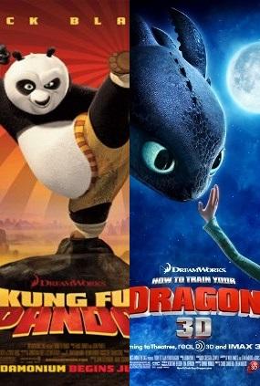 Kung Fu Panda-HTTY Dragon