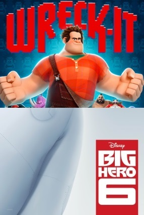 Wreck-It Ralph-Big Hero 6