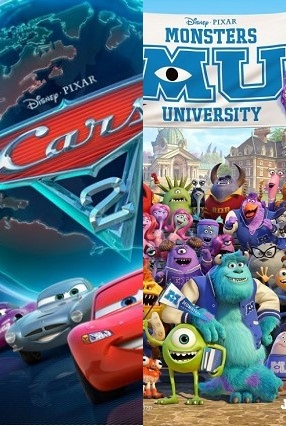Cars 2-Monsters U
