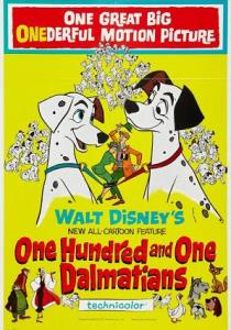 1961One Hundredand One Dalmatians
